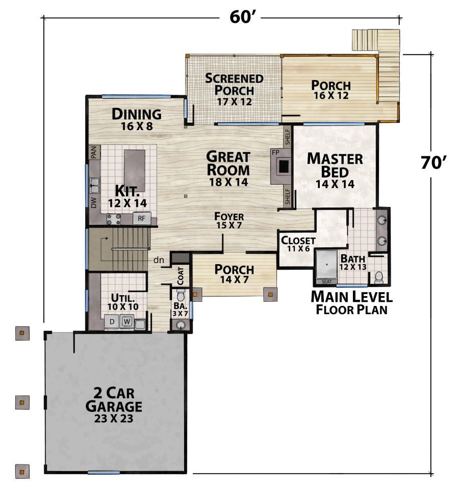 Pine Knot Camp Plan Details Natural Element Homes