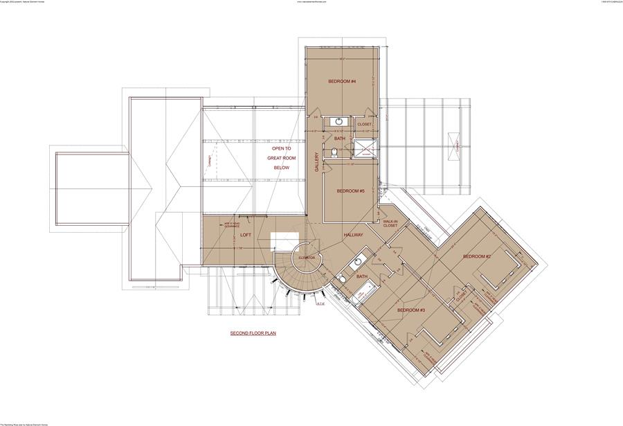 Rambling rose plan details natural element homes for Lucky 4 ranch floor plan