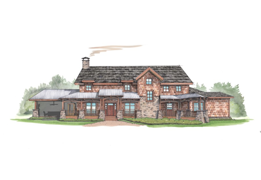Ravens nest hideaway plan details natural element homes for Natural home plans