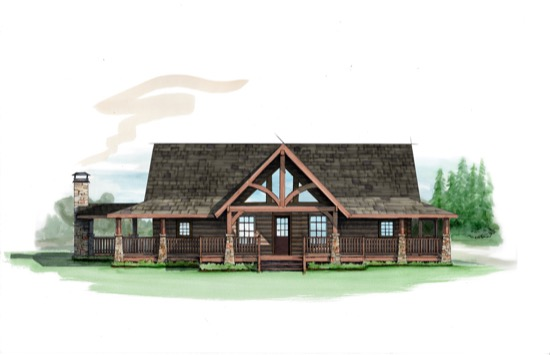 Arrowhead Lodge - Natural Element Homes