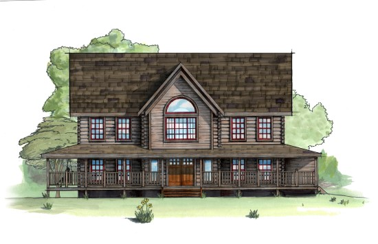 Ashe County Retreat - Natural Element Homes