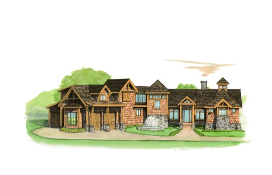 Bald Eagle Lodge - Natural Element Homes