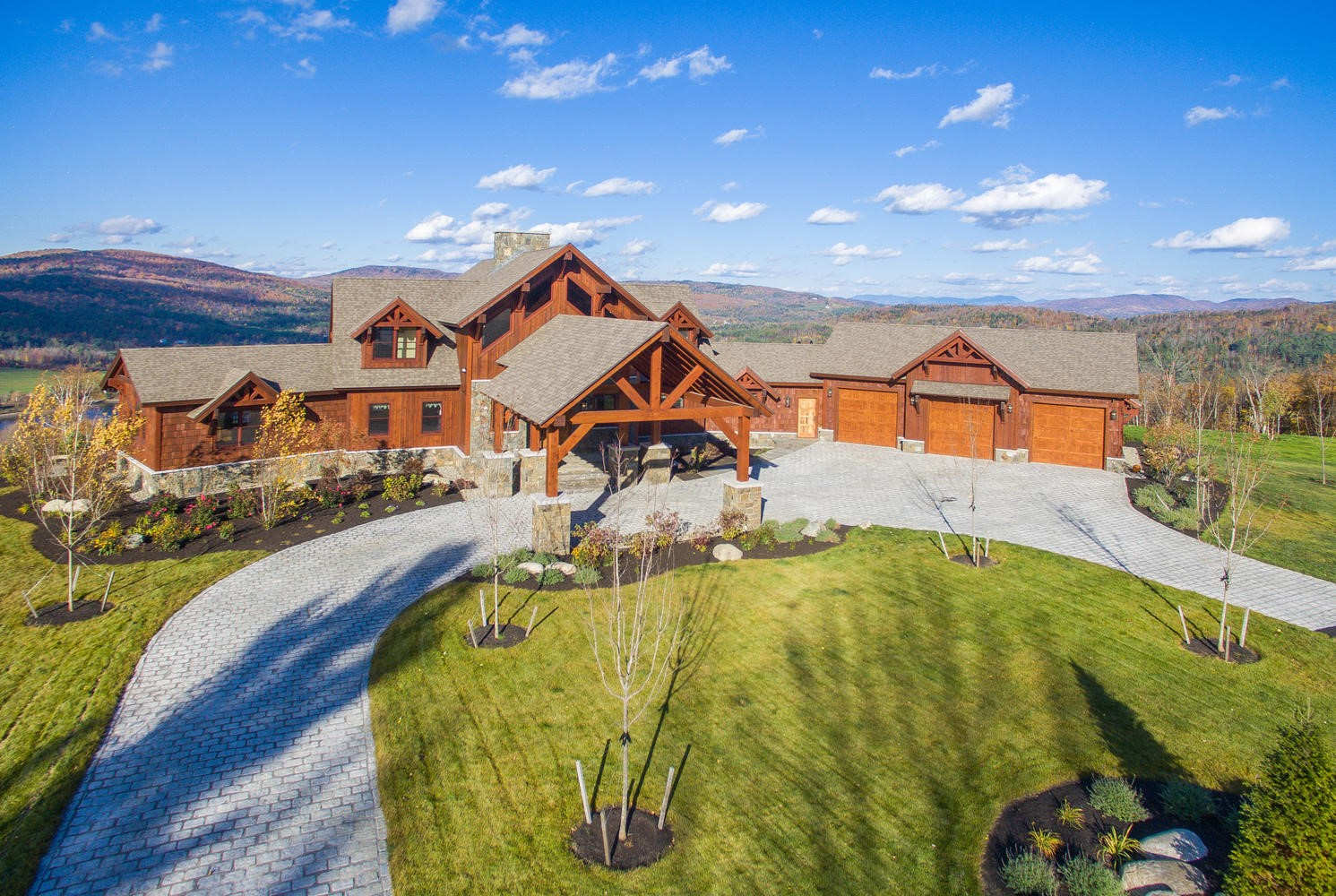 Big Moose Lodge - Natural Element Homes