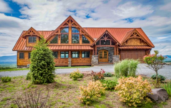 Big Wolf Lodge - Natural Element Homes