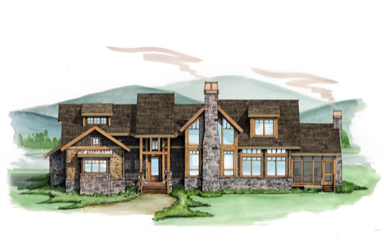 Black Hawk Lodge - Natural Element Homes