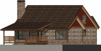 Blowing Rock Cottage Plan