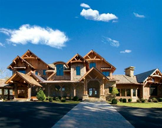 Blue Ridge Lodge - Natural Element Homes
