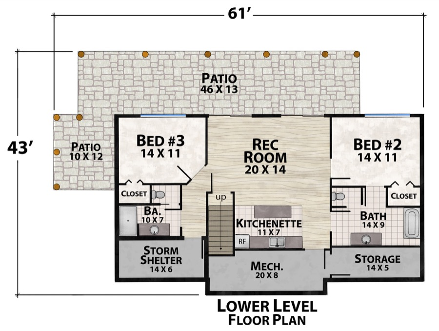 Brewski Camp Plan Details Natural Element Homes