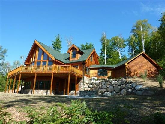 Brown Bear Lodge - Natural Element Homes