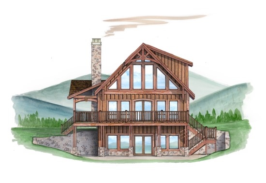 Buster Brown Cabin - Natural Element Homes
