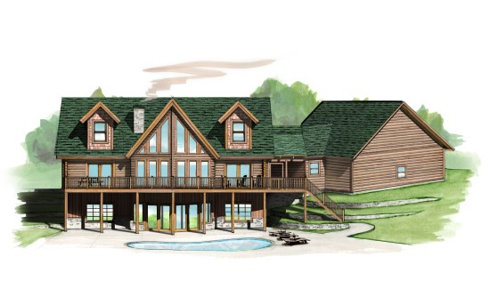 Cameron Retreat - Natural Element Homes