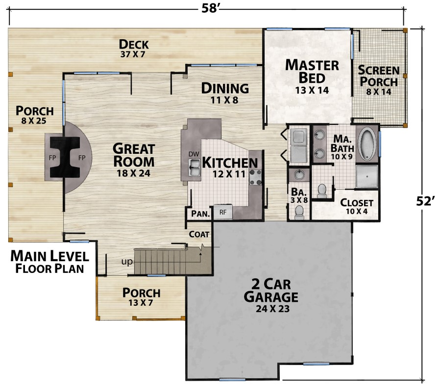 Camp Lake Cottage Plan Details Natural Element Homes