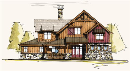 Canvasback - Natural Element Homes