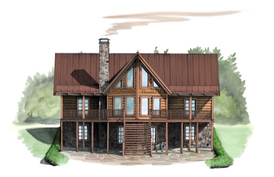 Canyon Creek Cabin - Natural Element Homes