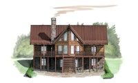 Canyon Creek Cabin Plan