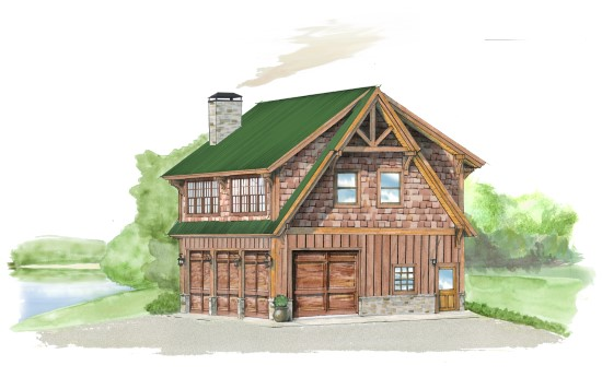 Carriage House 1 - Natural Element Homes
