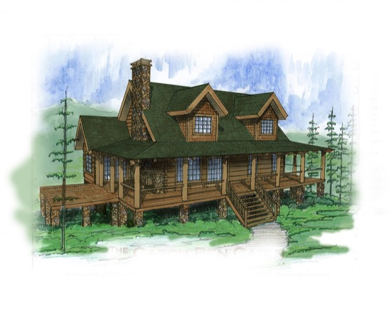 Catch Pen Cabin - Natural Element Homes