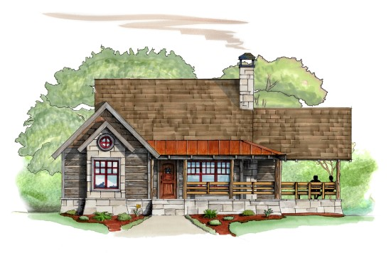 Chickadee Retreat - Natural Element Homes