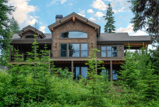 Cold Creek Lodge - Natural Element Homes
