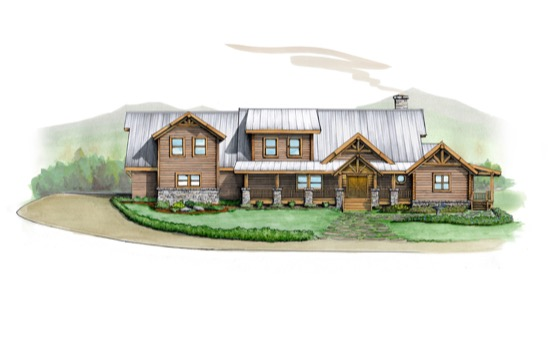 Cornerstone Lodge - Natural Element Homes
