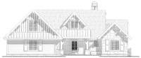 Cow Lick Cabin Plan
