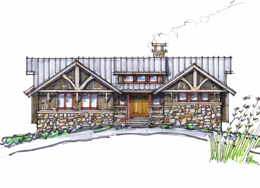 Cup cake plan details natural element homes for Witches cottage house plans
