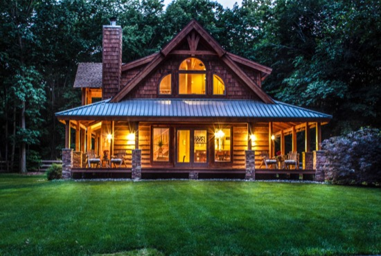 Deep Gap Lodge - Natural Element Homes