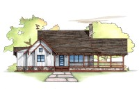 Farmhouse Retreat B Plan