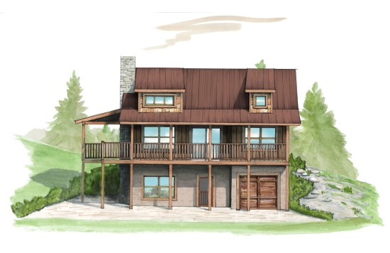 Foothills Camp - Natural Element Homes