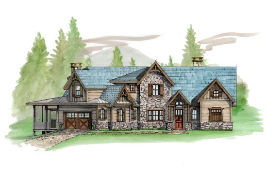 Grey Goose Place - Natural Element Homes