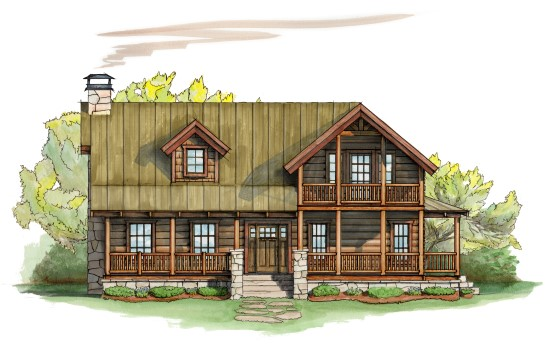 Huff and Puff Retreat - Natural Element Homes