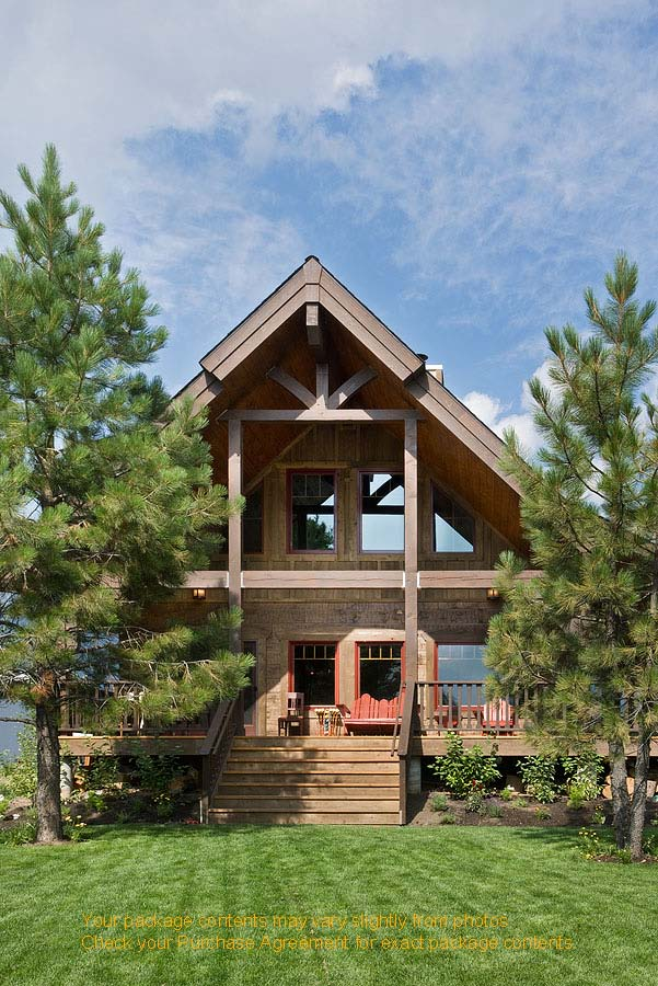 Idaho Mountain Retreat Plan Details Natural Element Homes