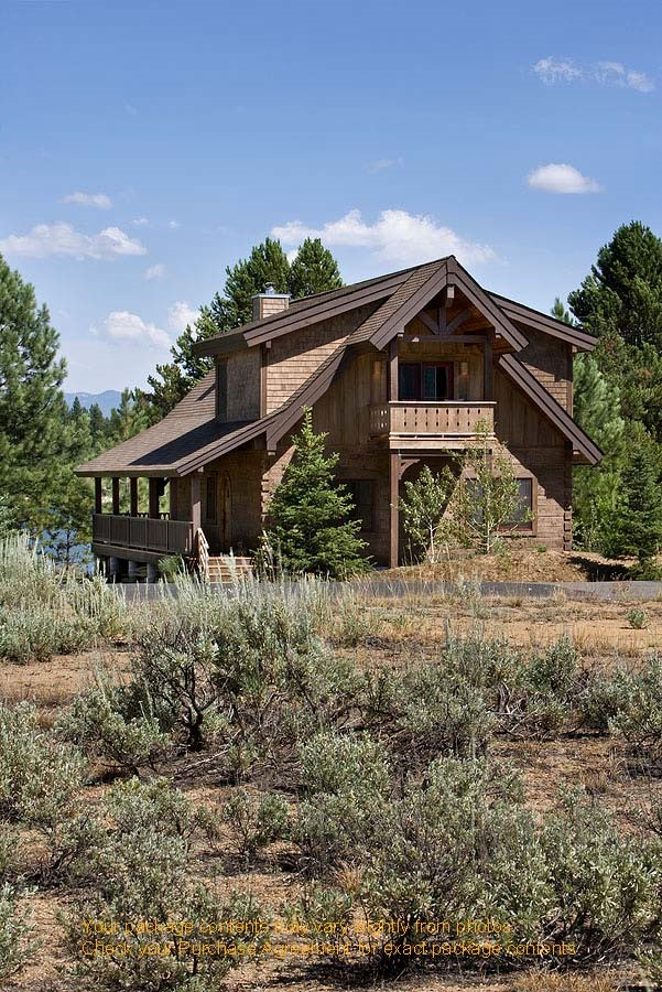 Idaho mountain retreat plan details natural element homes for Idaho house plans