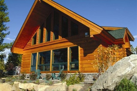 Lake Cascade Lodge - Natural Element Homes