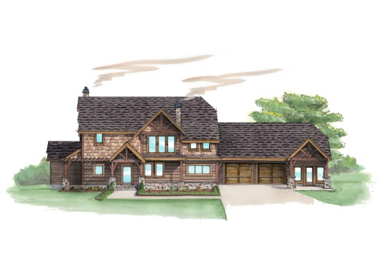 Linville Ridge Lodge - Natural Element Homes