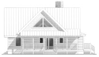 Little Cricket Cabin Plan