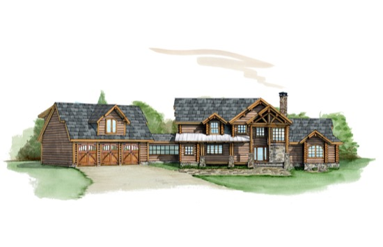 Live Oak Lodge - Natural Element Homes