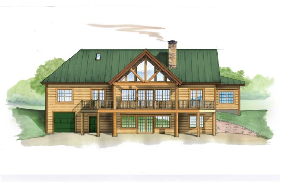 Loblolly Lodge - Natural Element Homes