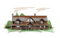 Lucky Lady Lodge Plan