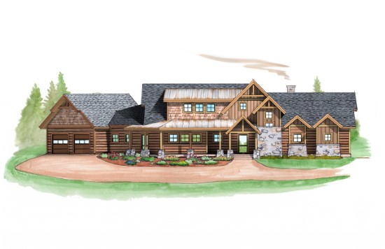 North Fork Lodge - Natural Element Homes