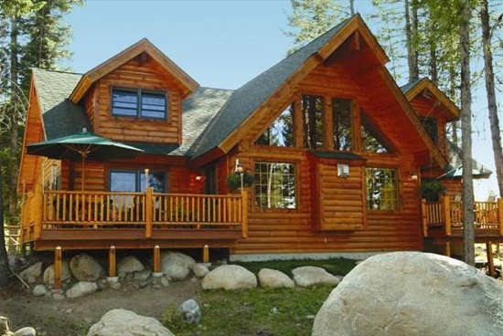 North River Lodge - Natural Element Homes