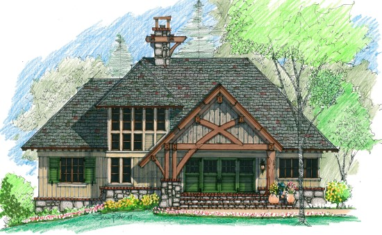 Otter Lake Retreat - Natural Element Homes