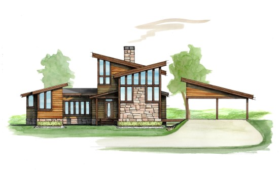Rocky Top Camp - Natural Element Homes