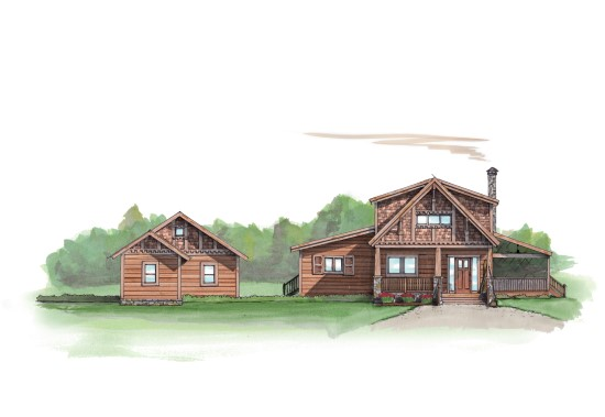 Rum Runner Camp - Natural Element Homes