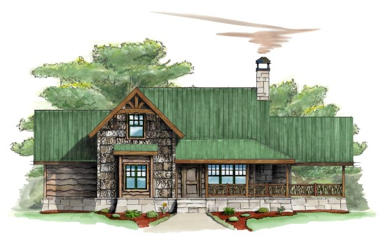 Sparrow Cottage Camp - Natural Element Homes