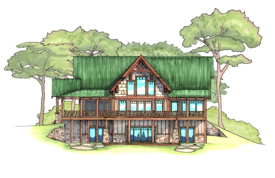 Starlight Lodge - Natural Element Homes