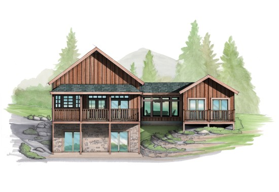Stonewall Jackson Camp - Natural Element Homes