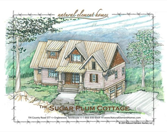 Sugar Plum Cottage - Natural Element Homes