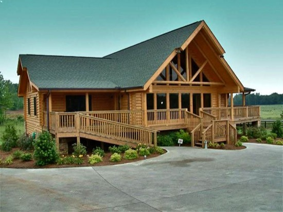 Talmo Lodge - Natural Element Homes