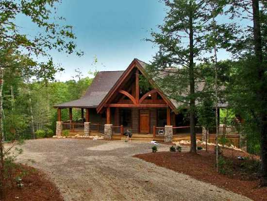 Tellico Retreat 1 - Natural Element Homes